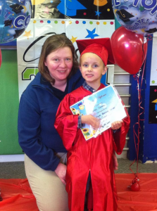 "Meet a Proud parent of a brand new ""Bright Minds"" Preschool Graduate!"